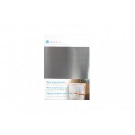 แผ่นโลหะสำหรับแต้มจุดสีเงิน (12.7 ซม. x 17.7 ซม.) (1 / แพ็ค)