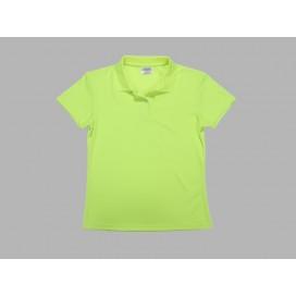 เสื้อโปโลผู้หญิงสีเขียว