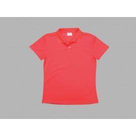 เสื้อโปโลผู้หญิงสีแดง