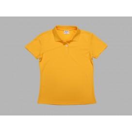 เสื้อโปโลผู้หญิงสีเหลือง