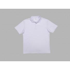 เสื้อโปโลผู้ชายสีขาว