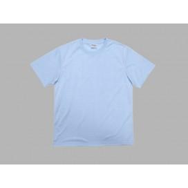 เสื้อยืดผู้ชายคอกลมผ้าคัตตอนสีฟ้า