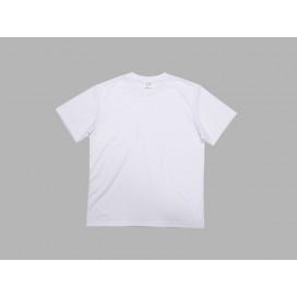 เสื้อยืดผู้ชายคอกลมผ้าคัตตอนสีขาว
