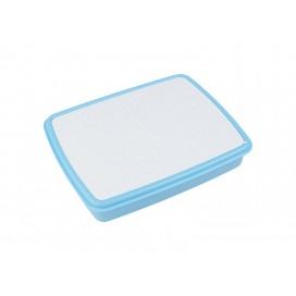 กล่องข้าวพลาสติก สีฟ้า (10/pack)