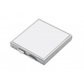 ตลับกระจกรูปสี่เหลี่ยมจัตุรัส (5.5*5.5cm)(10 ชิ้น/แพ็ค)