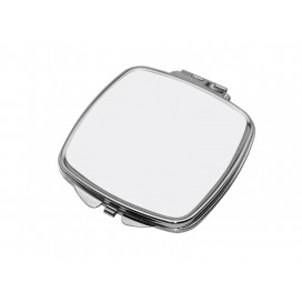 ตลับกระจกรูปสี่เหลี่ยมจัตุรัส (6.6*7.35cm)(10 ชิ้น/แพ็ค)