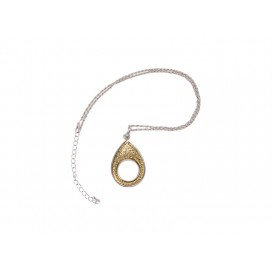 Fashion Noosa Necklace(Teardrop) (10/pack)