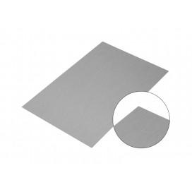 แผ่นอลูมิเนียมสีเงิน10*15Cm.(10 ชิ้น/แพ็ค)