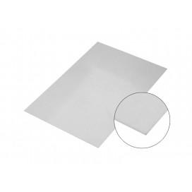 แผ่นอลูมิเนียมกระจกสีเงิน10*15Cm.(10 ชิ้น/แพ็ค)