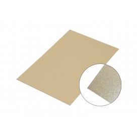 แผ่นอลูมิเนียมสีทองมุก30*60Cm.(10 ชิ้น/แพ็ค)