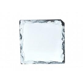 แผ่นหินรองแก้วทรงสี่เหลี่ยม(10cm.) (10 ชิ้น/แพ็ค)