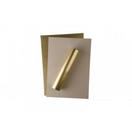 แผ่นฟลอยสีทองเมทัลลิค สำหรับงานเลเซอร์/LED