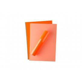 FOREVER FLEX แผ่นฟลอยสีส้มสะท้อนแสง  สำหรับงานเลเซอร์/LED