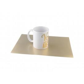 แผ่นโลหะ FOREVER สีทองขนาด A3 (100แผ่น/แพ็ค)