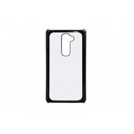 เคส LG G2 (พลาสติก, สีดำ) (10 ชิ้น/แพ็ค)