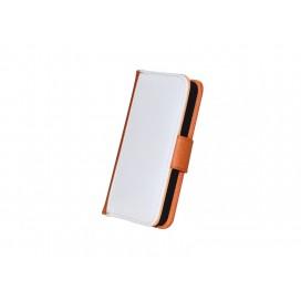 ซองหนังIP5 ฝาเปิด-ปิดสีส้ม(10 ชิ้น/แพ็ค)