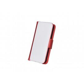 ซองหนังIP5 ฝาเปิด-ปิดสีแดง(10 ชิ้น/แพ็ค)