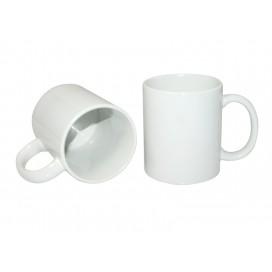 แก้วโค้ทเคลือบสีขาวเคลือบJS  เข้าเครื่องล้างจานได้ 11 ออนซ์ (36/แพ็ค)