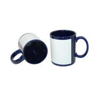 แก้วสีน้ำเงินแถบพื้นขาว 11oz (36 ใบ/ลัง)