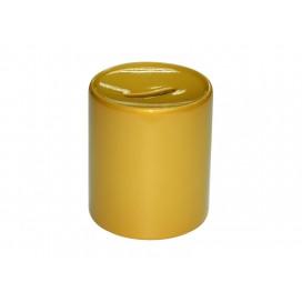 กระปุกออมสินสีทอง 11oz   12ชิ้น