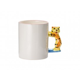 11oz Animal Mugs- Tiger with Box(48/pack)