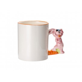 11oz Animal Mugs-Rabbit with Box(48/pack)