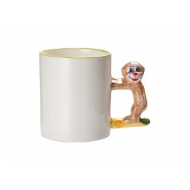 11oz Animal Mugs-Monkey with Box(48/pack)