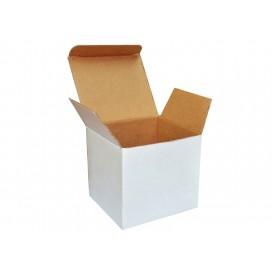 กล่องกระดาษสีขาวสำหรับแก้วขนาด 11oz (250 กล่อง/ลัง)