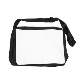 กระเป๋าสะพายไหล่ ขนาดใหญ่ สีดำ
