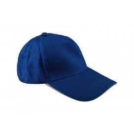 หมวกแค็ปผ้า Cotton สีฟ้าคราม  10 ใบ/แพ็ค