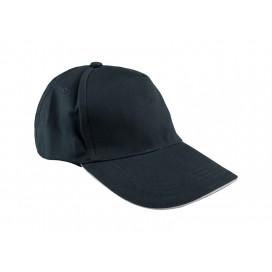 หมวกแค็ปผ้า Cotton สีกรมท่า  10 ใบ/แพ็ค
