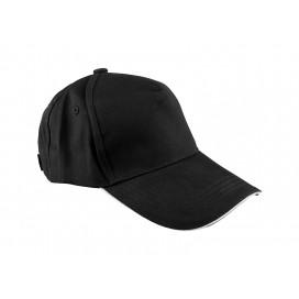 หมวกแค็ปผ้า Cotton สีขาว  10 ใบ/แพ็ค