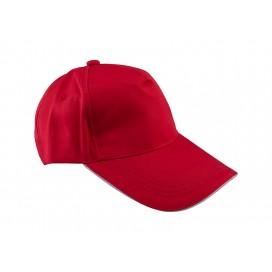 หมวกแค็ปผ้า Cotton สีแดง  10 ใบ/แพ็ค