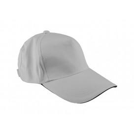หมวกแค็ปผ้า Cotton สีดำ  10 ใบ/แพ็ค