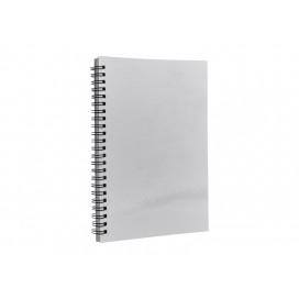 สมุดโน๊ต A5 สีขาวสำหรับสกรีน (10 เล่ม/แพ็ค)