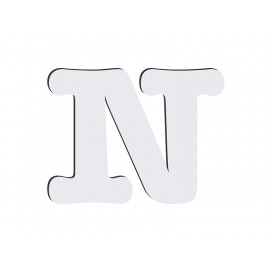 Sublimation HB Letters -N (10*10cm)(36/pack)