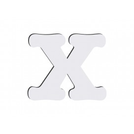 Sublimation HB Letters -X (10*10cm)(36/pack)