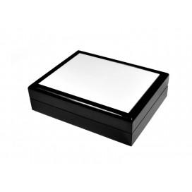 กล่องใส่เครื่องประดับ เซรามิค ขนาด 6*8 สีดำ (10 อัน/แพ็ค)